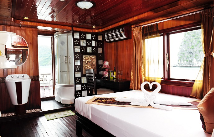 Deluxe room on boat