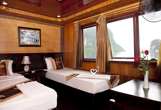 Superior room on boat
